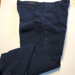Dark wash Lee Classic Fit  jeans, size 18 medium